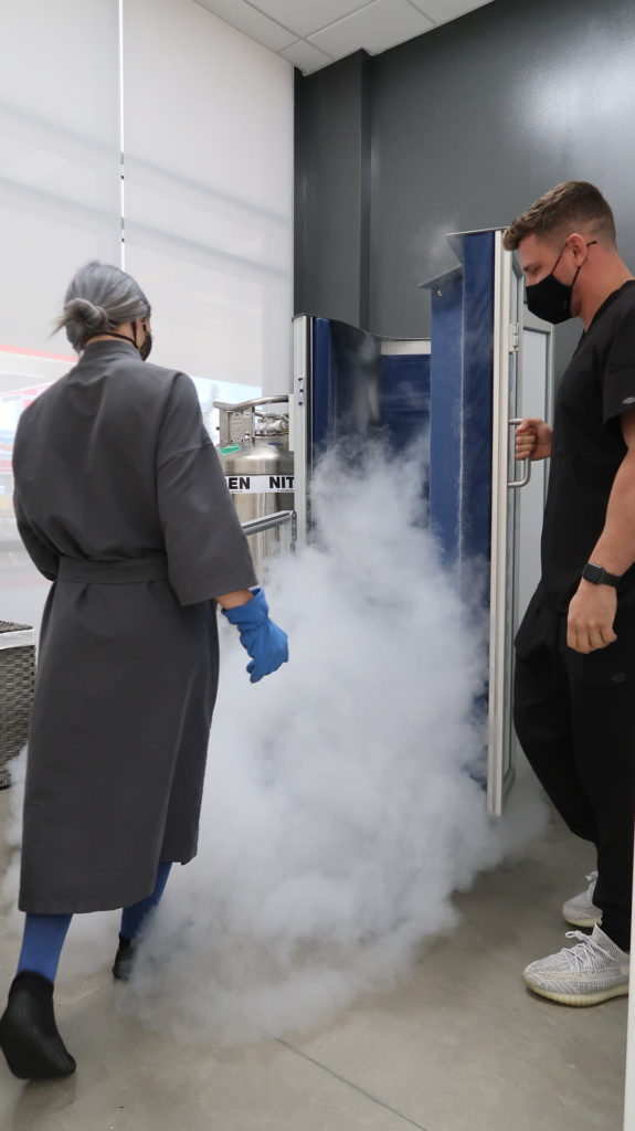 Nitrogen Cryotherapy Chamber